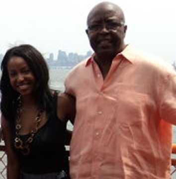 Kristy Davis with her dad, Willie, in 2010.
