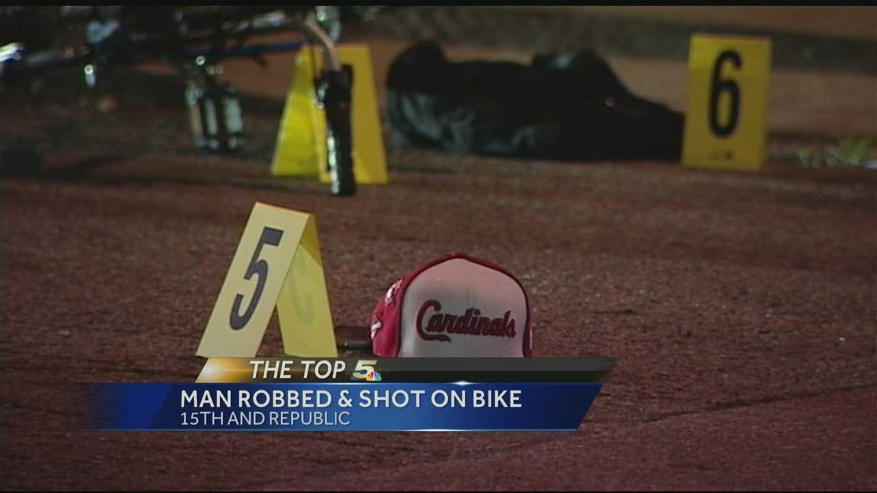 A man riding his bike in Over-the-Rhine was shot at about 4 a.m.