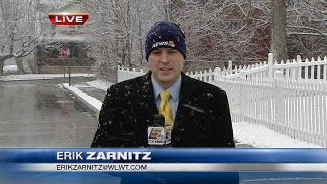 You see him forecasting Tri-state weather during the weekends and reporting during the week. Now, here are 20 things that you don't know about WLWT Power of 5 Meteorologist Erik Zarnitz.