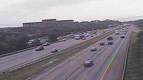 Pedstrian hit on I-71