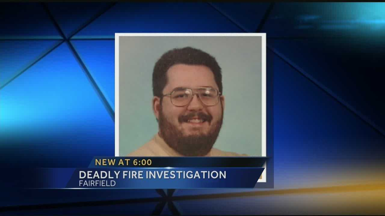 Detectives are looking into the circumstances surrounding a Fairfield man's death earlier this year in an apartment fire.