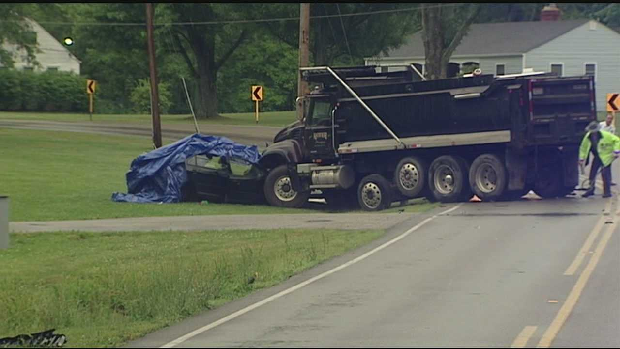 A woman is dead and her son injured after a car accident in Clermont County.