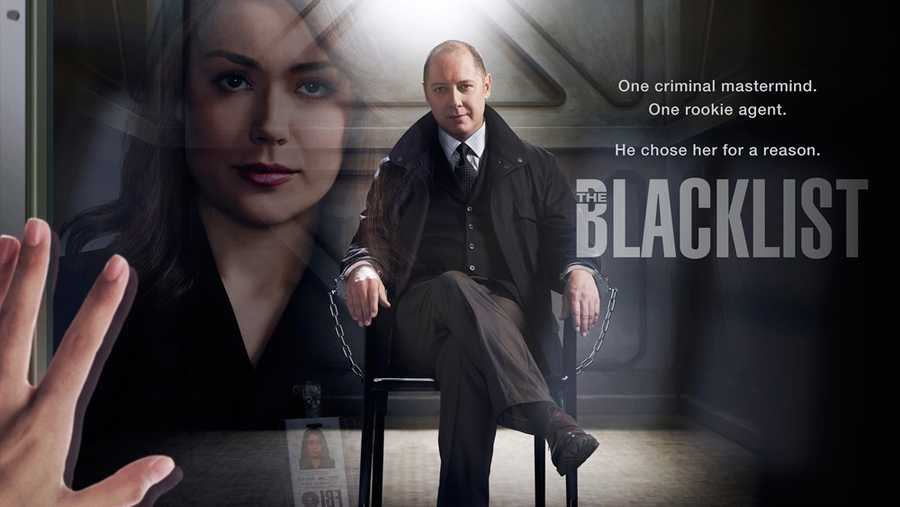 "The Blacklist: On THURSDAYS at 9:00 pm.  For decades, ex-government agent Raymond ""Red"" Reddington  has been one of the FBI's most wanted fugitives. Brokering shadowy deals for criminals across the globe, Red was known by many as ""The Concierge of Crime."" Now, he's mysteriously surrendered to the FBI with an explosive offer: he will help catch a long-thought-dead terrorist, Ranko Zamani, under the condition that he speaks only to Elizabeth ""Liz"" Keen, an FBI profiler fresh out of Quantico. For Liz, it's going to be one hell of a first day on the job.Cast: James Spader, Megan Boone, Diego Klattenhoff, Harry Lennix, and Ryan Eggold"