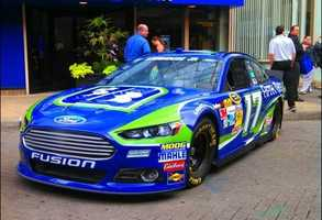Ricky Steinhouse car