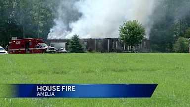 Amelia house fire