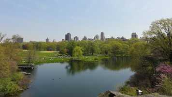 1. Central Park in New York City, New York