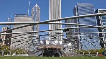 4. Millennium Park in Chicago, Illinois