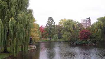 7. Boston Public Garden in Boston, Massachusetts