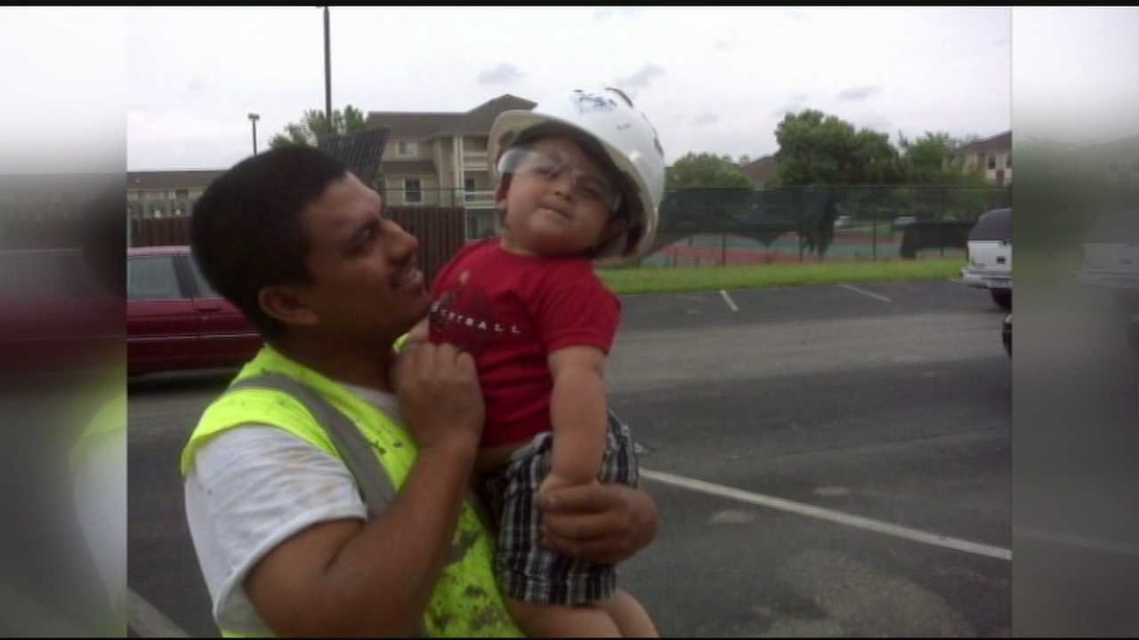 A local husband and father has been deported and his wife and children left scrambling.