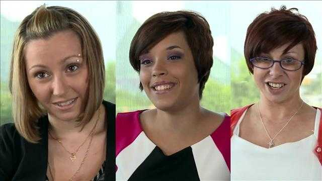 Amanda Berry, Gina DeJesus and Michelle Knight.