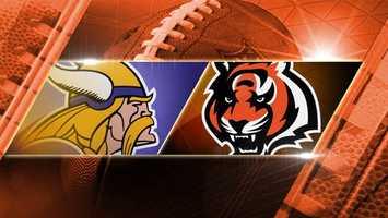 BENGALS WIN 42-14. Week 16: Vikings at Bengals: The Vikings come to Cincinnati to play the Bengals on Sunday, Dec. 22 at 1 p.m. at Paul Brown Stadium.