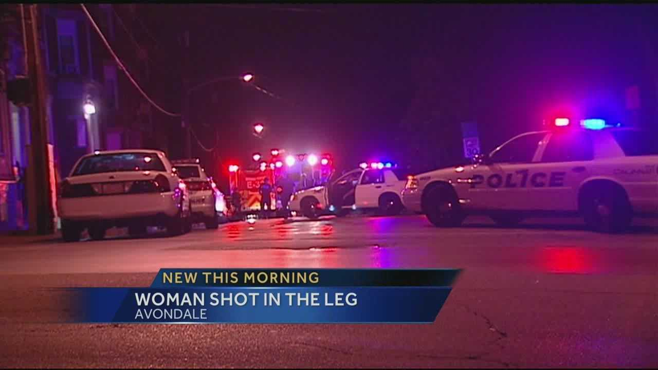 A woman is expected to recover after getting shot in the leg in Avondale overnight.