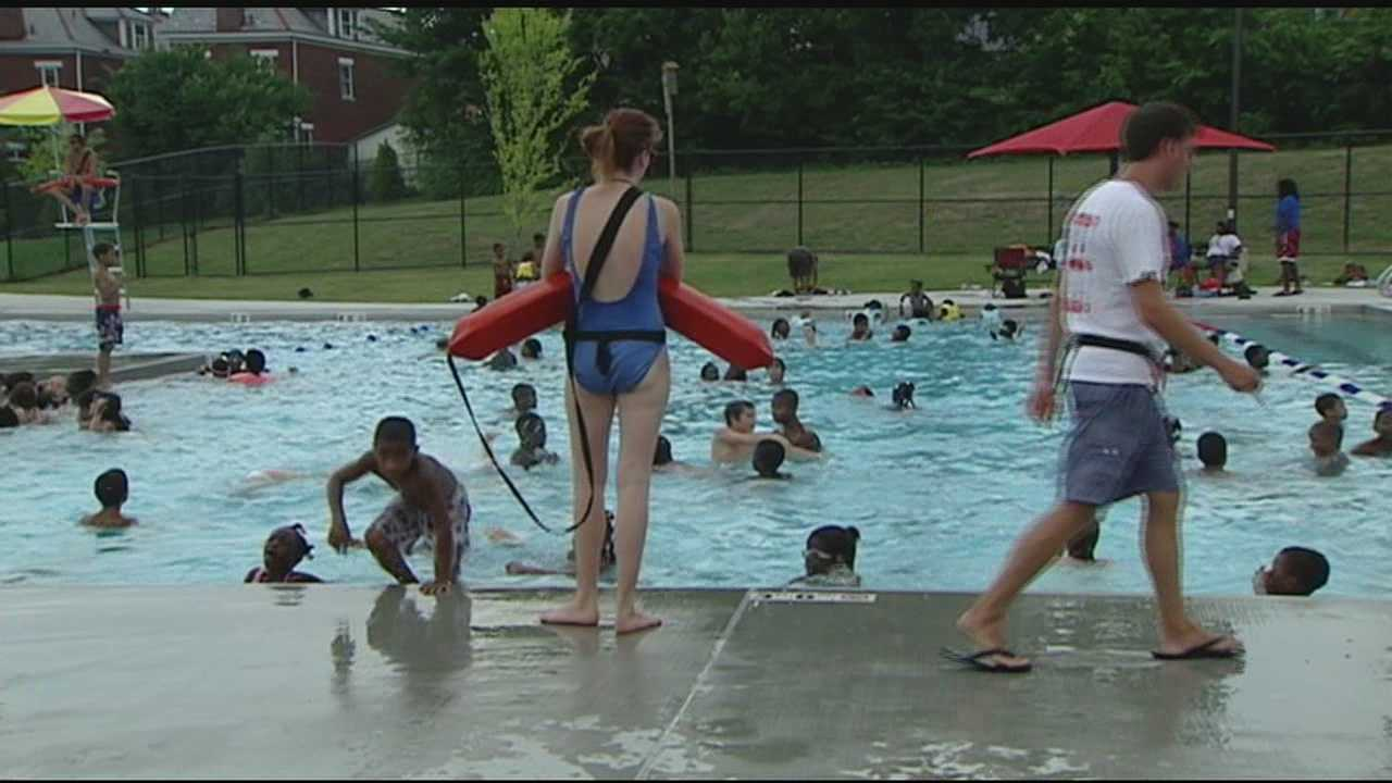 July's heat and humidity is pushing city pool attendance numbers up and reinforcing the importance of neighborhood pools.