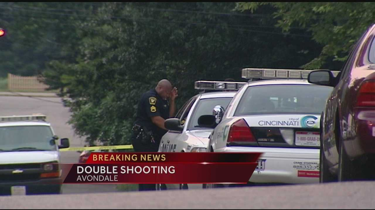 Cincinnati police are investigating a double shooting in the 500 block of Hale Avenue in the Avondale neighborhood.