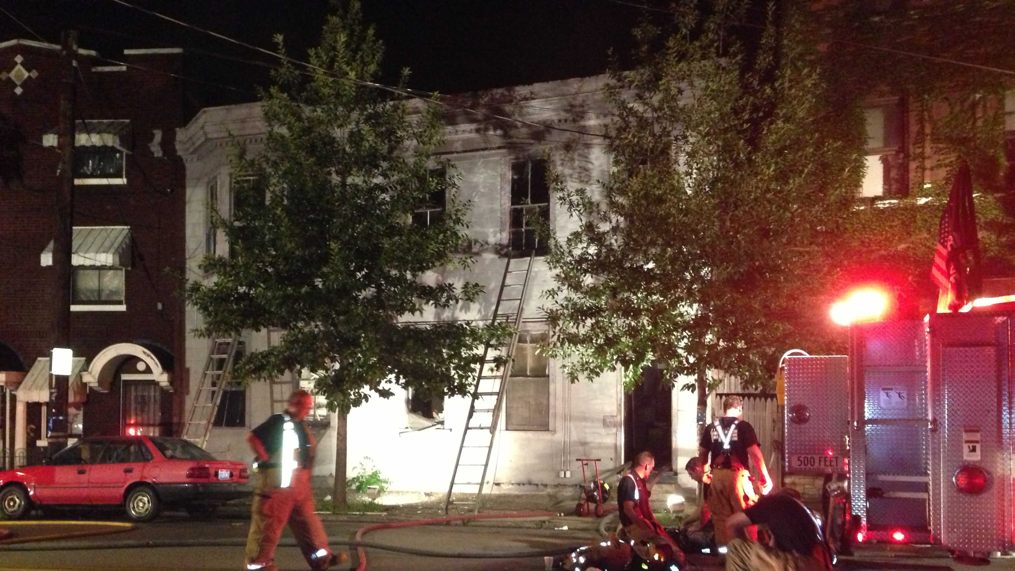 A fire broke out in an unoccupied building in the 600 block of West McMicken Avenue.