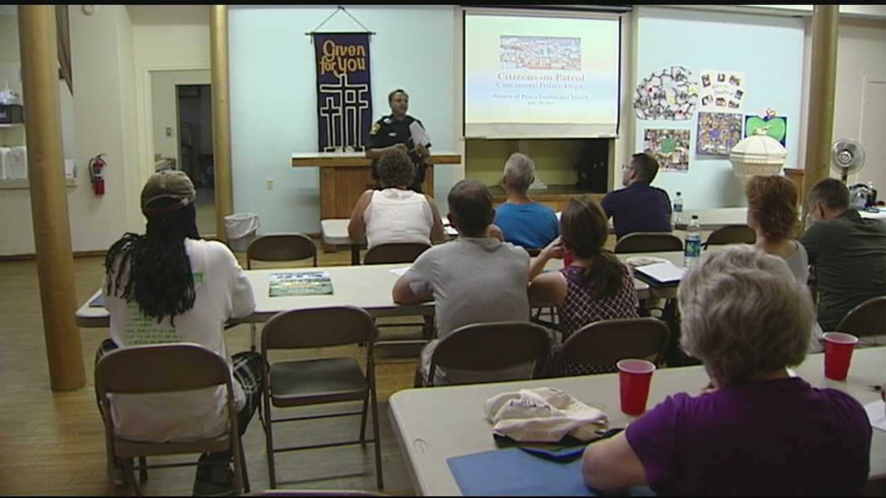 Citizens on Patrol begin training help fight crime in Over-the-Rhine.