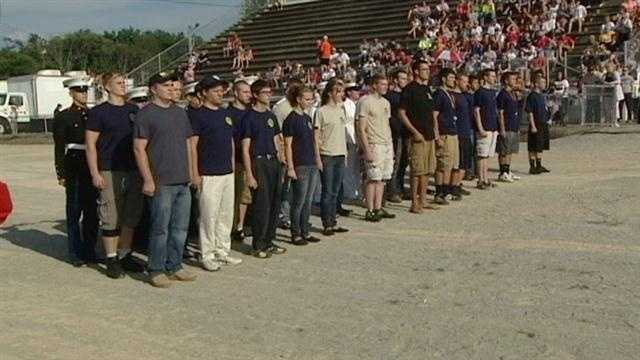 A ceremony was held for military recruits Saturday in Clermont County.