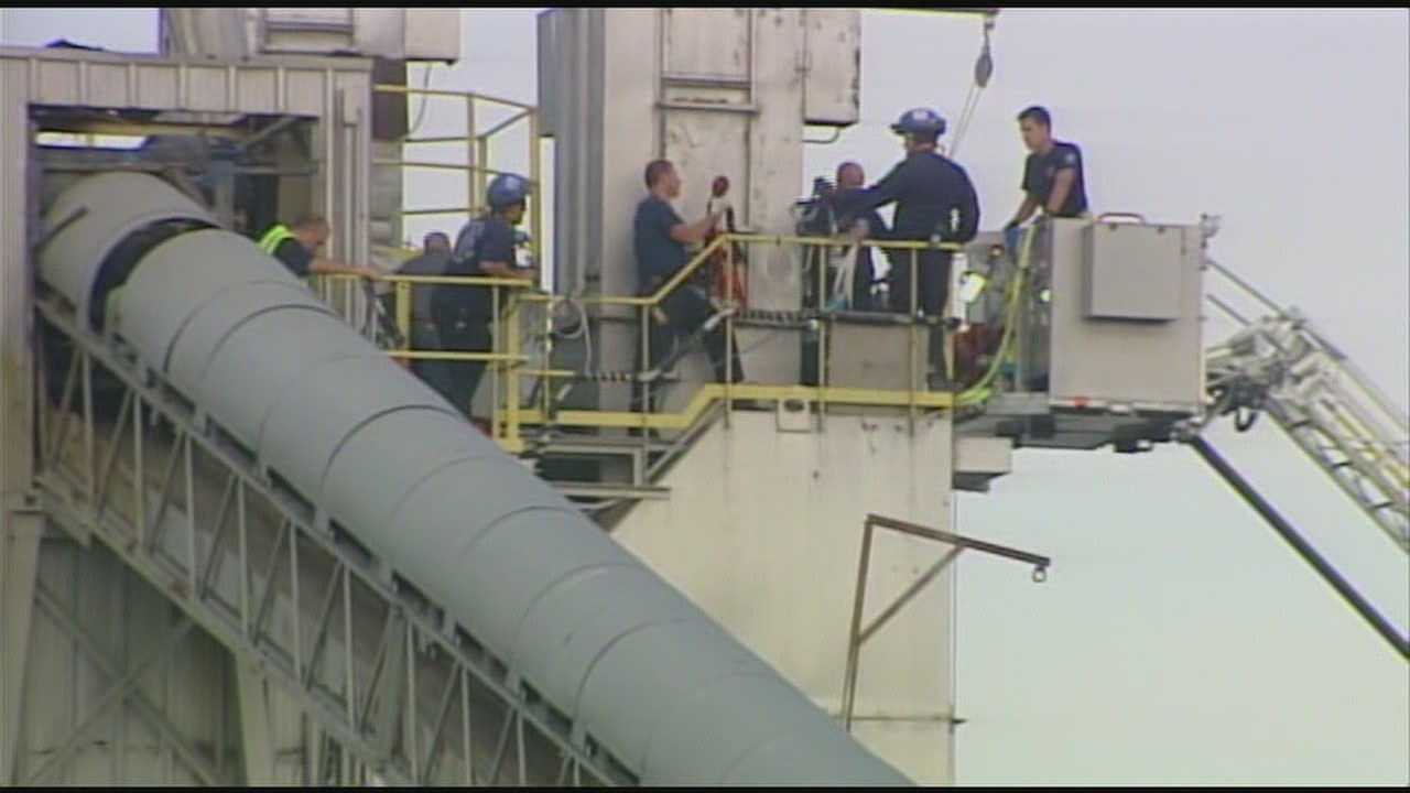 A man died after falling into an 80-foot silo Tuesday in Butler County.