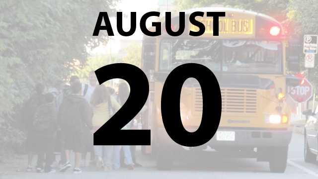 Wyoming City Schools and Campbell County Schools begin on Tuesday, August 20.
