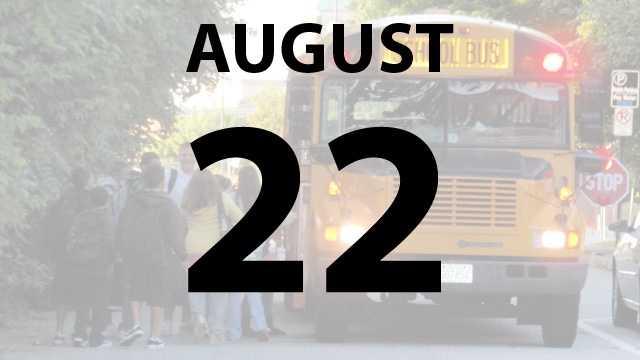 Lockland, Mt. Healthy, Lakota and Oak Hills city schools begin on Thursday, August 22.