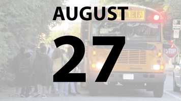 Sycamore City Schools begin Tuesday, August 27.