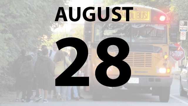 Southwest Local Schools start on Wednesday, August 28.