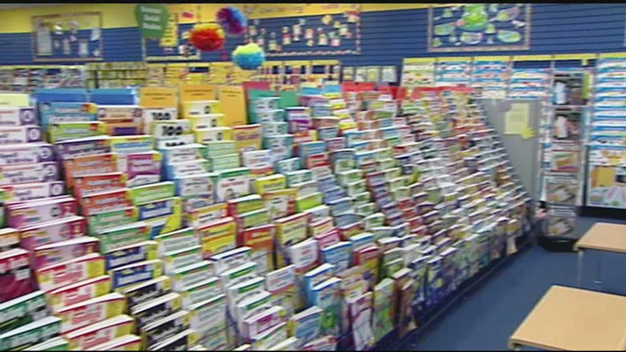 Back to school: School supplies