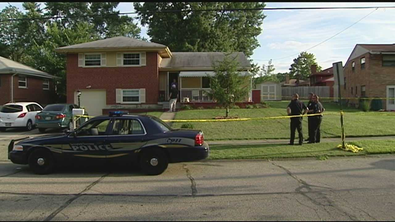 A man is in critical condition Thursday night after he was shot in the foyer of his Springfield Township home.