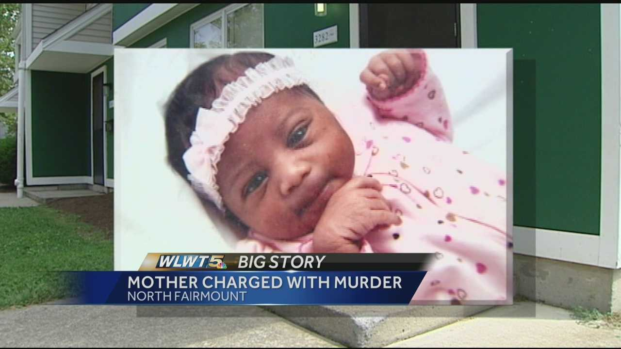 A mother accused of killing her 16-month-old daughter was ordered held on $1 million bond on Friday.