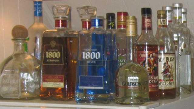 generic bar bottles