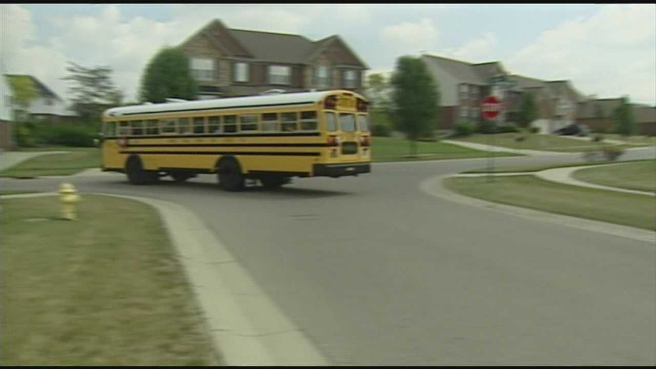Students say school bus driver distracted by cellphone