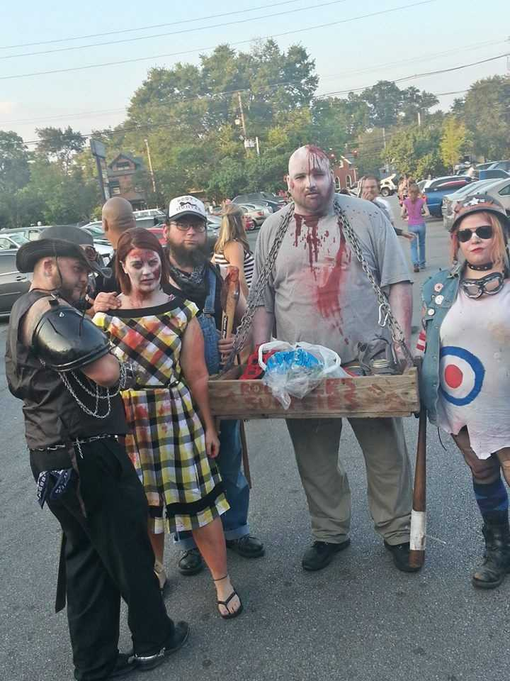 Zombies took over the Highlands for the annual Zombie Walk.Photo courtesy of Apollo Bacala