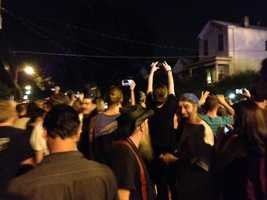 Click here to see photos from Zombie Walk 2012
