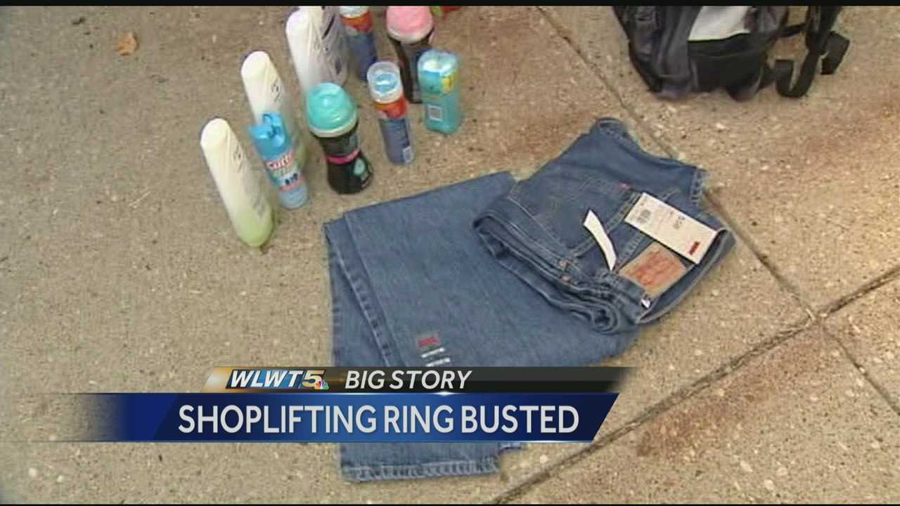 Police say an undercover task force has been busting up organized shoplifters who targeted discount retail stores across western Ohio from the Cincinnati area to north of Dayton.
