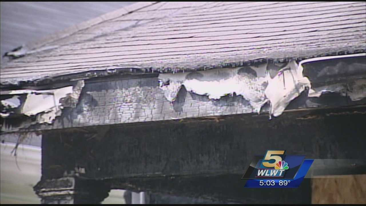 A 4-year-old saved his family from their burning home Sunday.