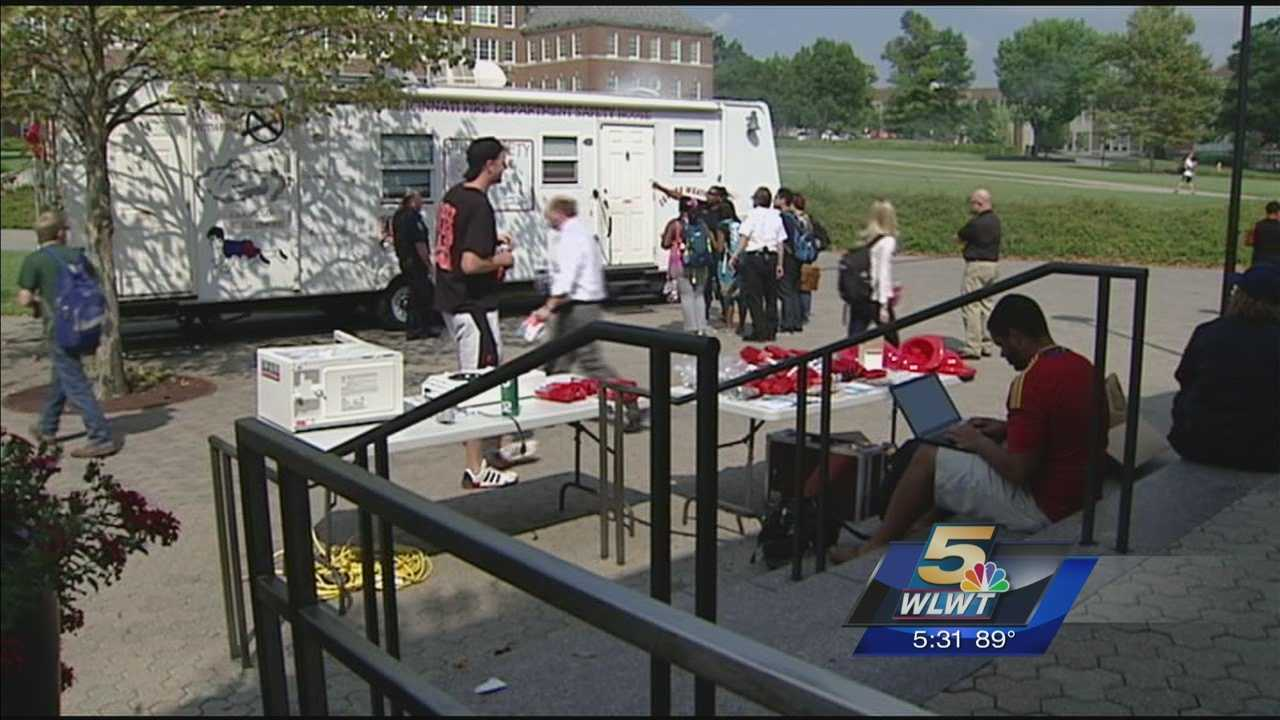 In the wake of the deaths of two University of Cincinnati students earlier this year, the university is educating about fire safety.