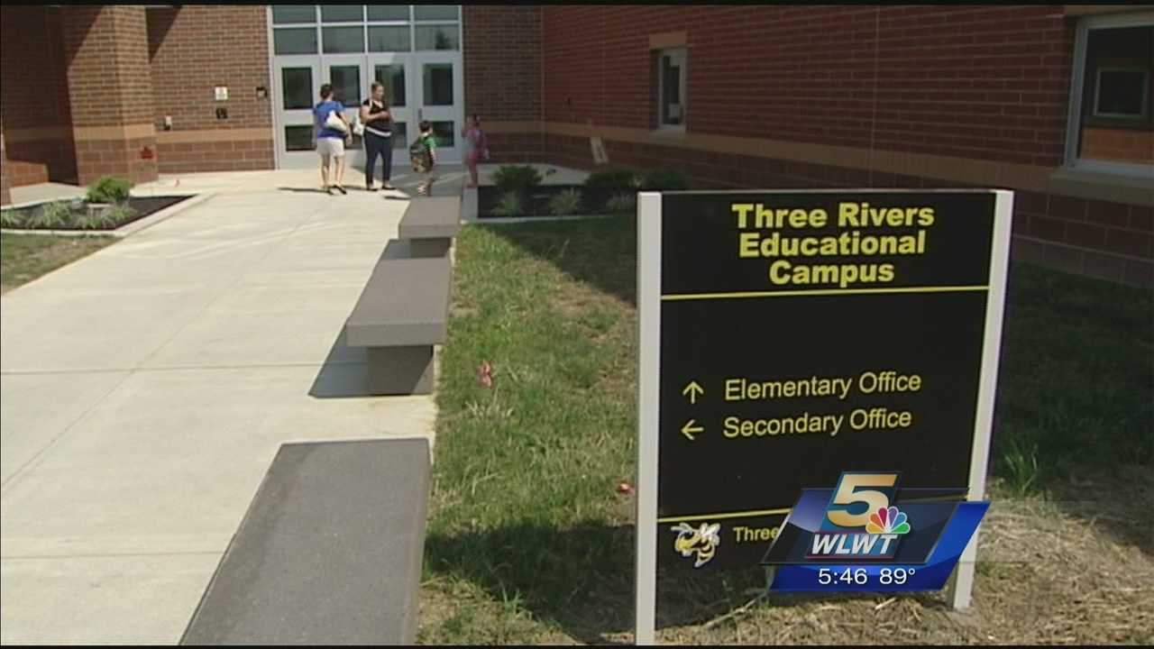 Preschoolers through 12th graders started school at Three Rivers Educational Campus On Monday.