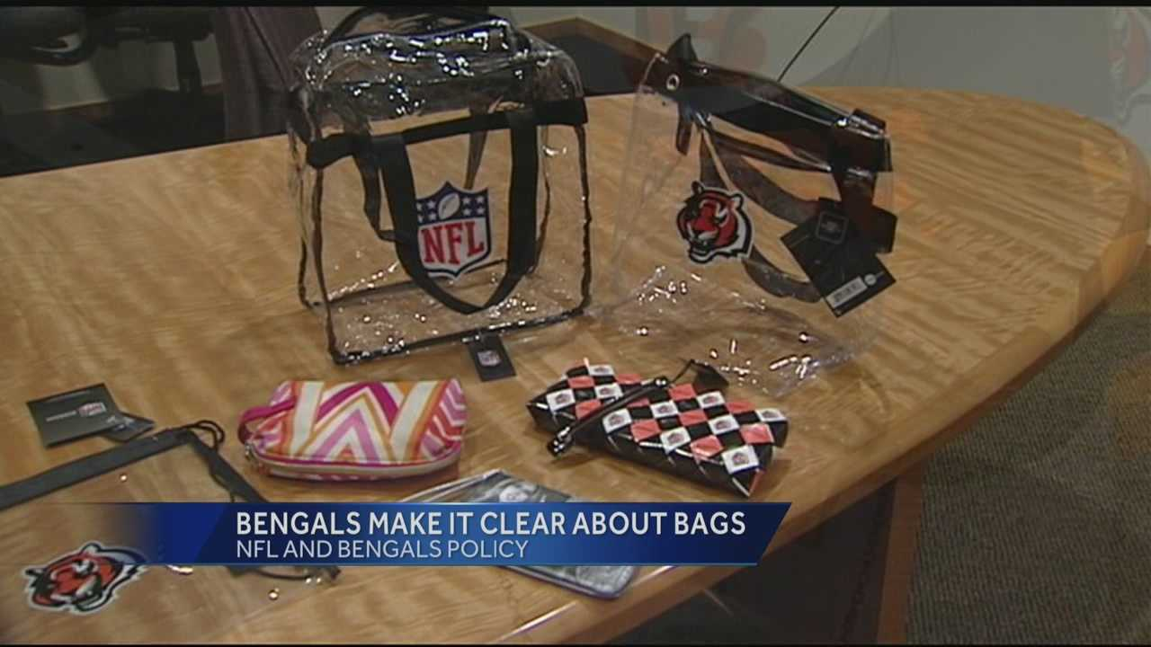 The NFL has amended its bag policy to limit fans to handbag-sized purses.