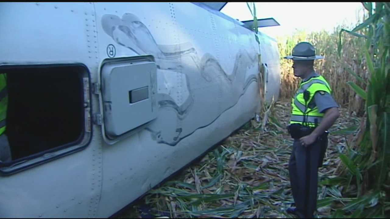 No fatalities when Greyhound carrying 52 crashes in Butler County