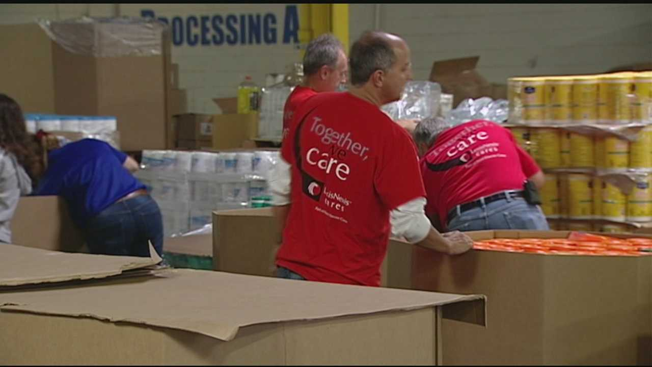 People in the Tri-state are reaching out to help Colorado flooding victims. Matthew 25 Ministries left today with semi-trucks full of supplies. WLWT's Kristy Davis got look at the load before it shipped out.