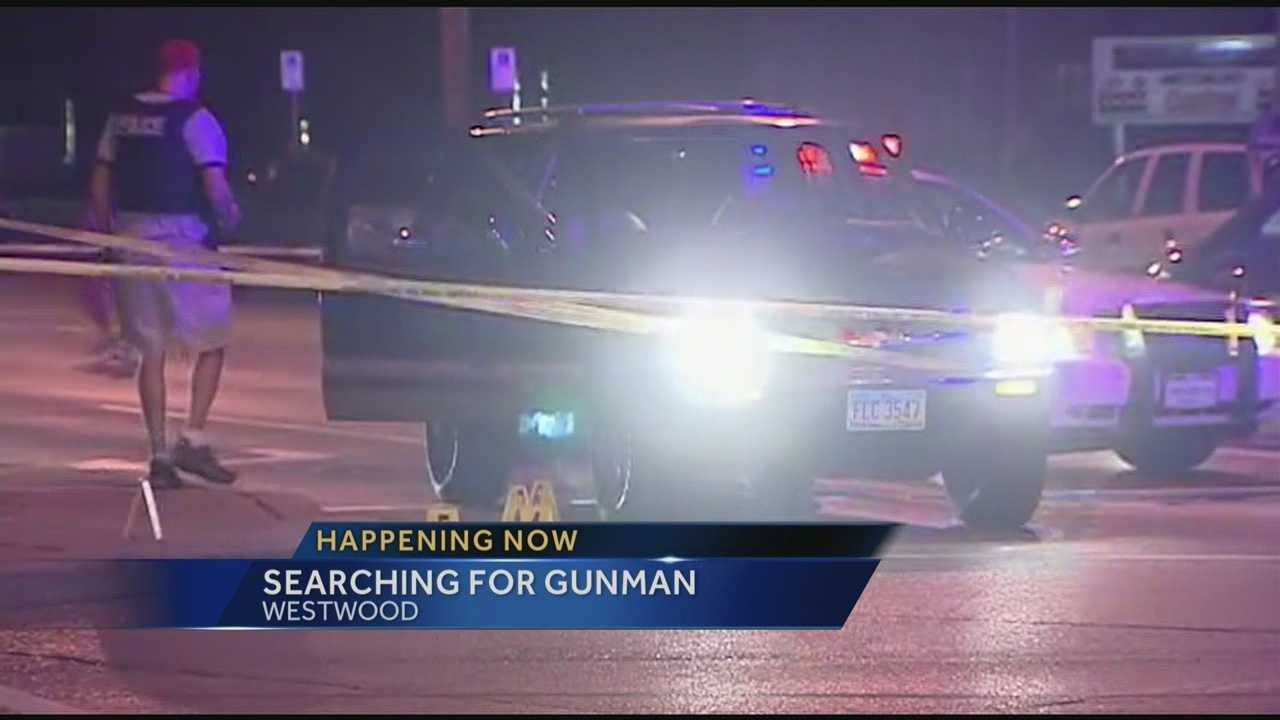 A man is hospitalized after being shot in Westwood late Thursday.