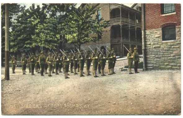 """Fort Thomas, """"one of the most important stations of the U.S. Army."""""""