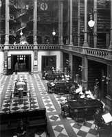 The Cincinnati library, then containing 300,000 volumes.
