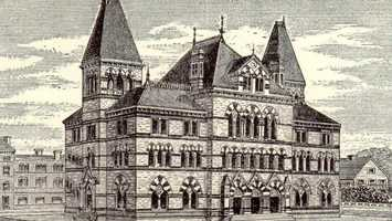 """Though the guide does mention that the Government Building in Covington is """"a good specimen of modern Gothic."""""""