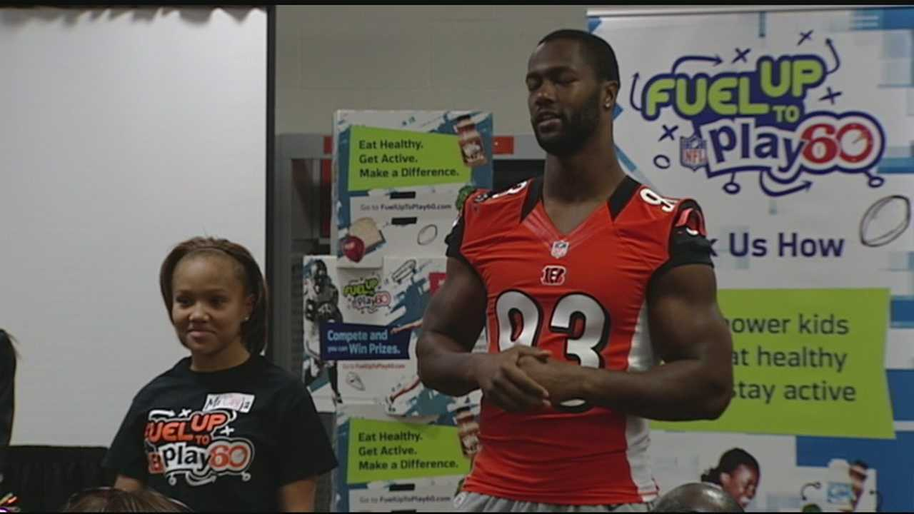 The Bengals have partnered with the American Dairy Association for Fuel Up to Play 60.