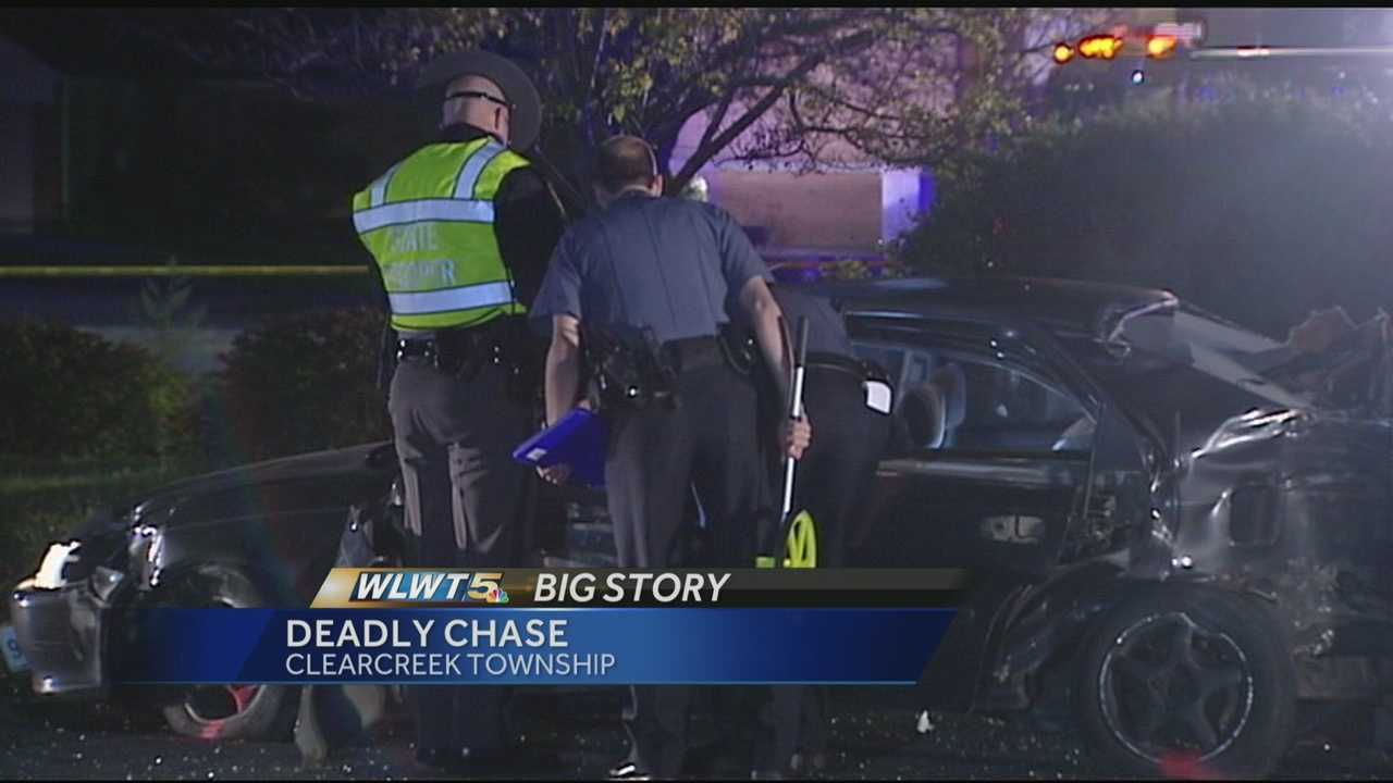 Driver killed when police chase ends in crash