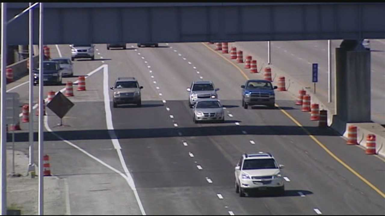 Work on the southbound lanes of Interstate 471 will once again create a major traffic obstacle this weekend.