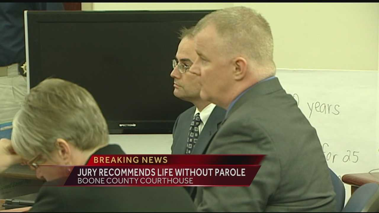 A jury has recommended a life sentence without parole for convicted killer Michael Moore