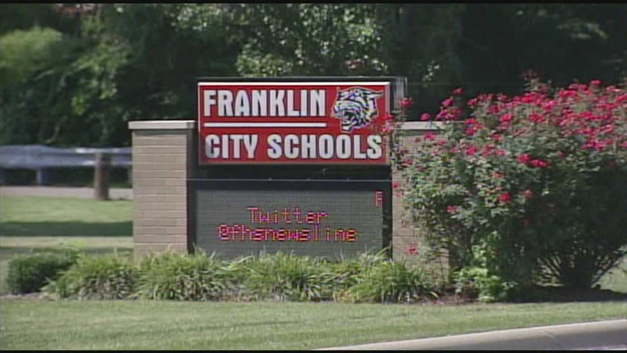 Seven Franklin High School students are accused of selling Adderall at school.