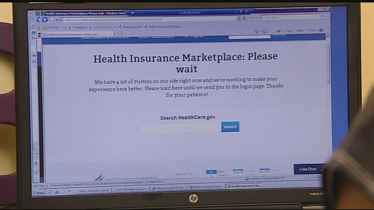 It is day one of the Affordable Care Act and thousands in the Tri-State are beginning the process of getting insurance. But not without some glitches.
